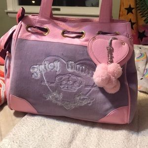 Girly juicy couture bag